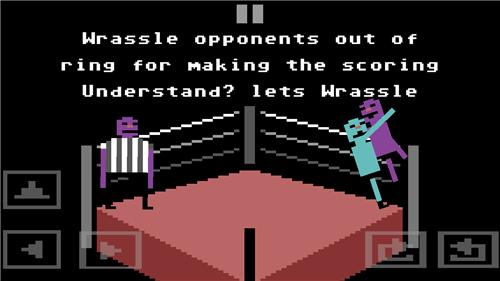 古怪的摔跤手游